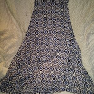 Long skirt size small